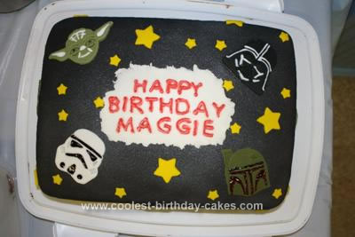 Star Wars Birthday Cakes on Coolest Star Wars Cake 21