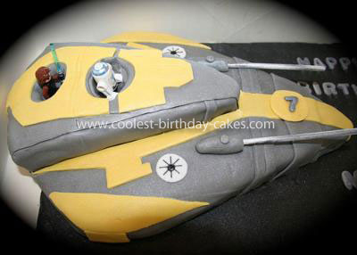 Star Wars Cakes Easy Birthday Cakescom