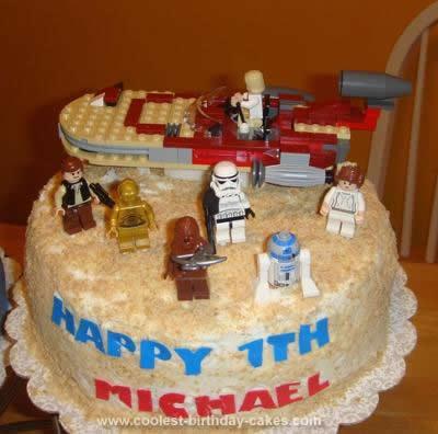 Coolest Star Wars Birthday Cake