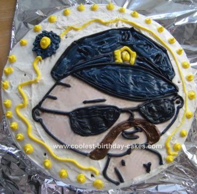 Sexy Stewie Cop Cake