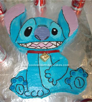 Coolest Stitch Birthday Cake 8