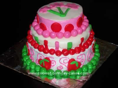 Pirate Birthday Cake on Coolest Strawberry Shortcake Birthday Cake 54