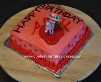 Coolest Strawberry Shortcake Cake 37
