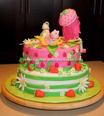 Strawberry Shortcake Cake Contest Game