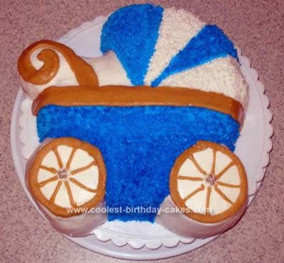 Homemade Stroller Cake