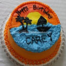 Sunset Birthday Cakes