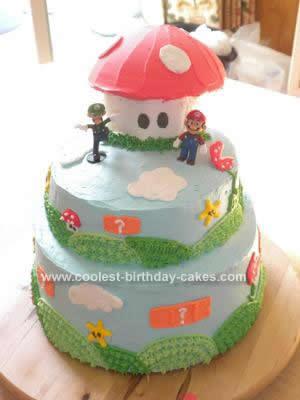 Super Mario Birthday Cake on Coolest Super Mario Brothers Birthday Cake 79