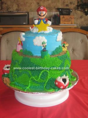 Creative Birthday Cakes on Coolest Super Mario Brothers Cake 43