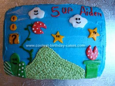 Super Mario Birthday Cake on Coolest Super Mario Cake 50