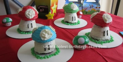 Homemade Super Mushroom Cakes