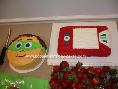 Homemade Super Why! Cake