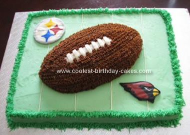 Homemade Superbowl Cake