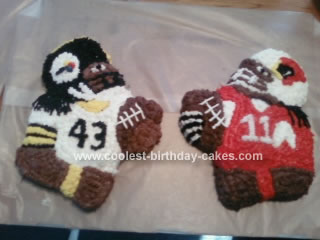 Homemade Superbowl Cakes