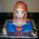 Supergirl Birthday Cakes