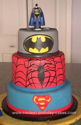 Superhero Birthday Cake on Coolest Superhero Birthday Cake 11