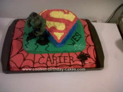 Superhero Birthday Cake on Coolest Superheros Birthday Cake 2