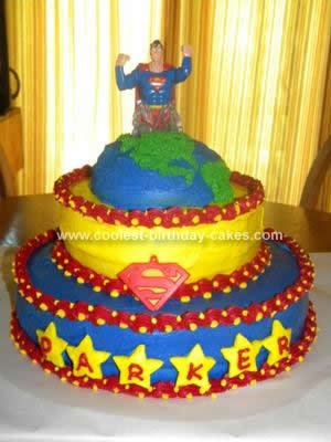 Fondant Birthday Cakes on Coolest Superman Birthday Cake 20