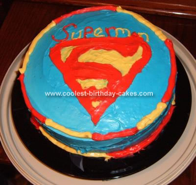 Superman template cake ideas and designs for Superman template for cake