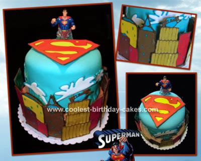chr s blog this superman cake was a welcome home cake for a soldier