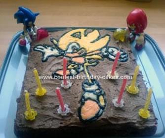 Homemade Supersonic Cake