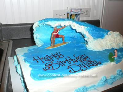 How To Make Surfboards For Cake