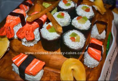 Homemade Sushi Cake
