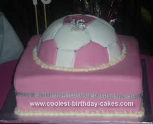 Girly Birthday Cakes on Coolest Sweet 16th Soccer Cake 59