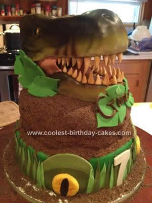 Coolest T Rex Fossil Cake 134