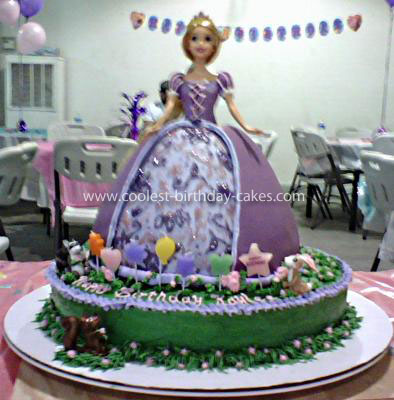 Tangled Birthday Cake on Coolest Tangled Birthday Cake 18