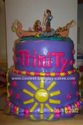 Tangled Birthday Cake on Coolest Tangled Birthday Cake 28