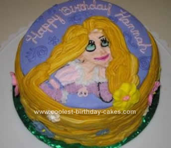 Tangled Birthday Cake on Coolest Tangled Birthday Cake 19