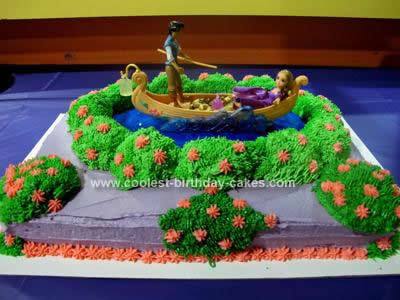 Tangled Birthday Cake on Coolest Tangled Cake With Flynn Rider And Rapunzel 25