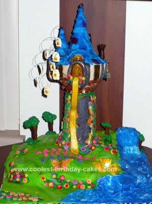 Tangled Birthday Cake on Coolest Tangled  Rapunzel  Birthday Cake 24