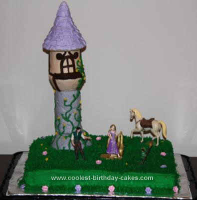 Coolest Tangled (Rapunzel) Birthday Cake 8
