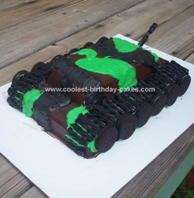 Tank Cake