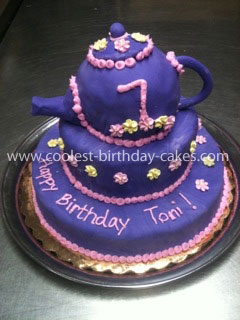 Coolest Teapot Birthday Cake