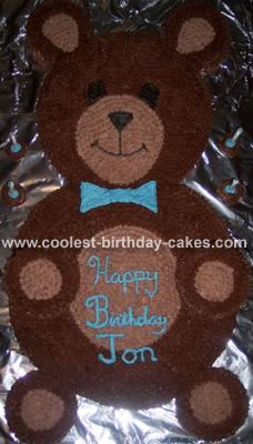 coolest teddy bear cake 27 36929 jpg