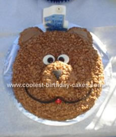 Sports Birthday Cakes on Homemade Teddy Bear Picnic Cake