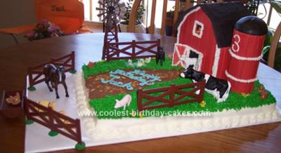 Homemade Tennessee Farm Cake
