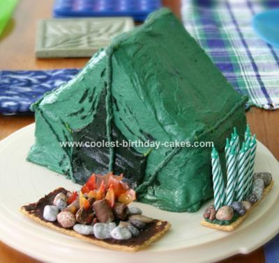 Tent Cake