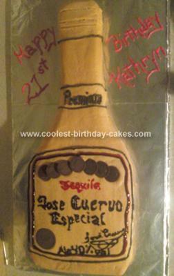Homemade Tequila Cake