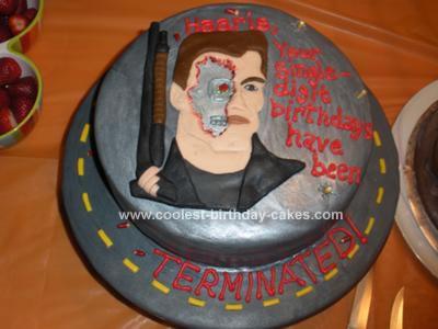 Homemade Terminator Cake