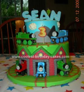 Thomas Birthday Cake on Coolest Thomas And Friends Birthday Cake 4