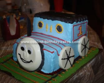 Thomas Birthday Cake on Coolest Thomas The Train Birthday Cake 157
