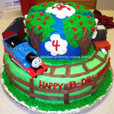 Thomas Birthday Cake on