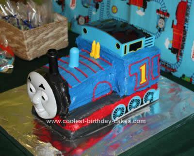 Thomas The Train Birthday Cakes 2