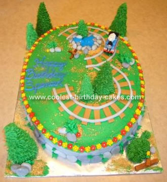 Thomas  Train Birthday Cake on Coolest Thomas The Train Cake 85