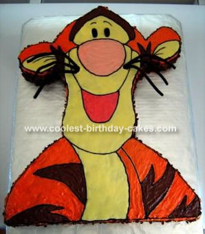Birthday Cakes on Coolest Tigger Cake 3