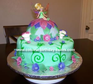 Tinkerbell Cakes 8