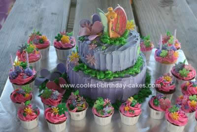 Tinkerbell Cakes 6